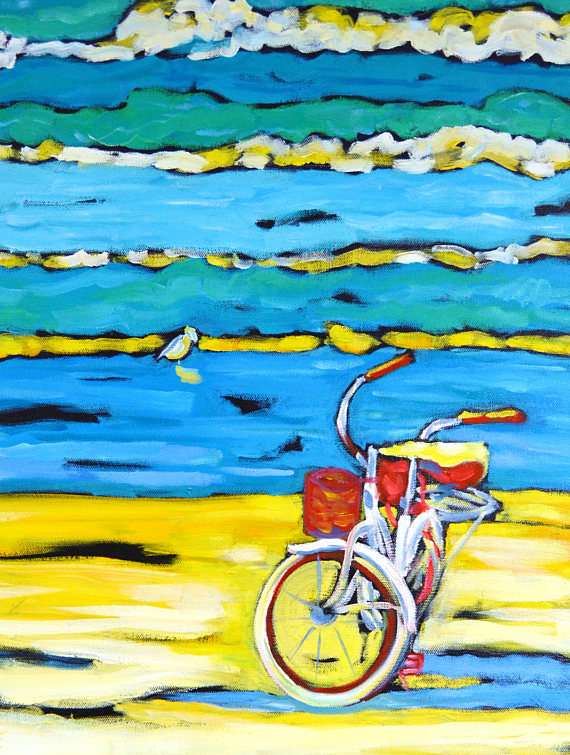 Morning Ride - reproduction of original painting