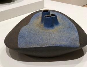 Karen Karne's ceramic sculptural vessel