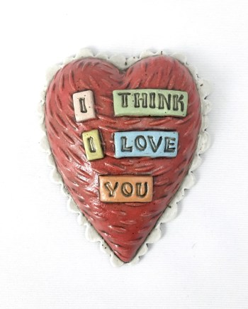 I think I love you wall tile