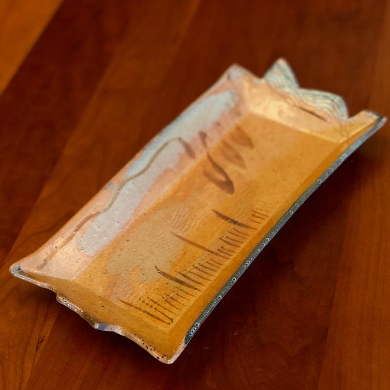 Ceramic Trays by Cyndi Casemier