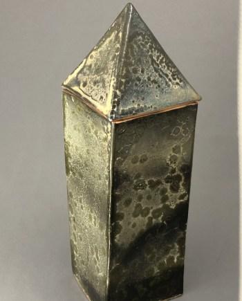 ceramic tower by Cyndi