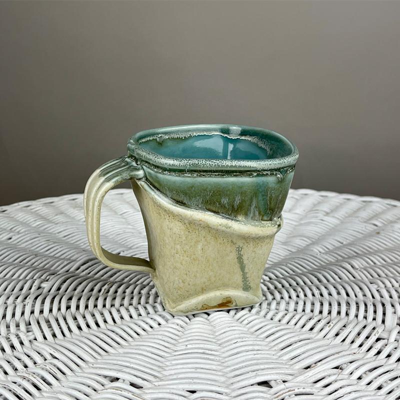 handmade pottery mug by marion angelica