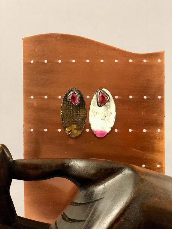 Reversible Earrings by Julie Billups