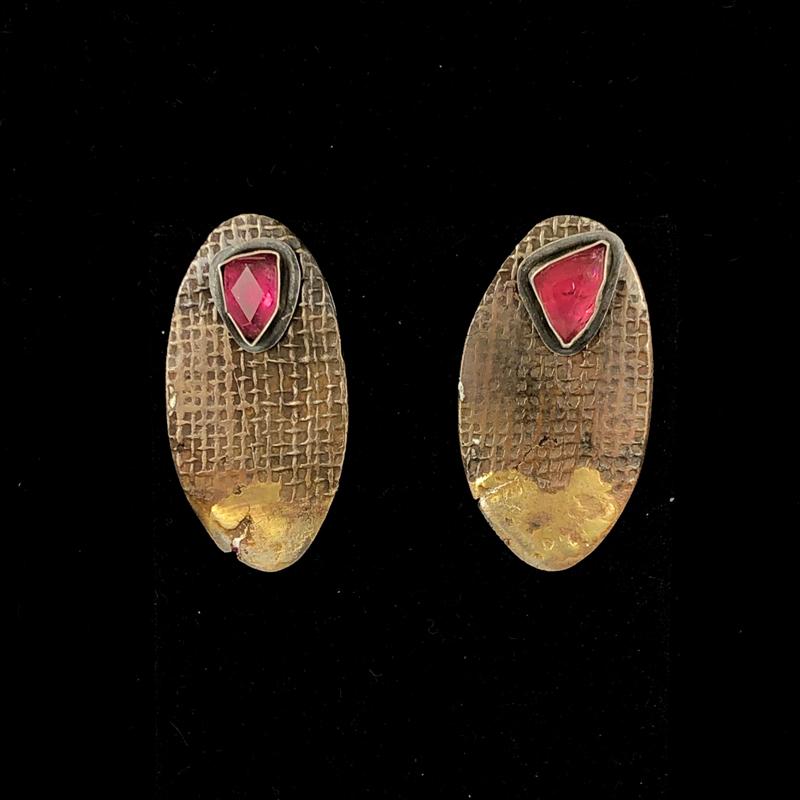 Reversible Earrings Side 1