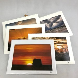 Grand Haven Greeting Cards by Bob Walma