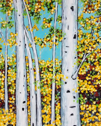 Birch Trees Series by Christi Dreese