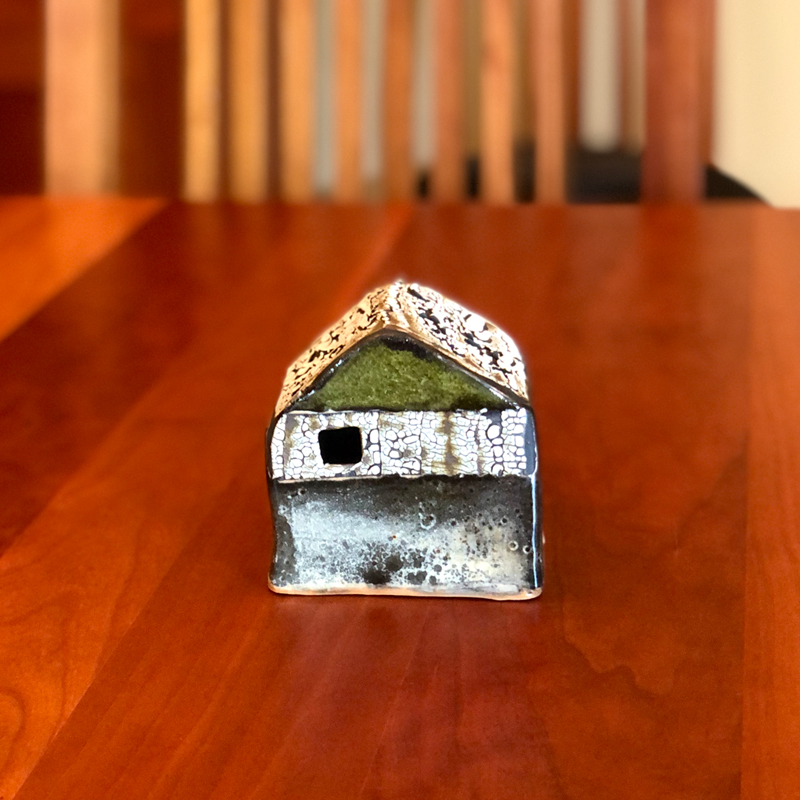 Horizontal Stripe XS Cottage by Cyndi Casemier