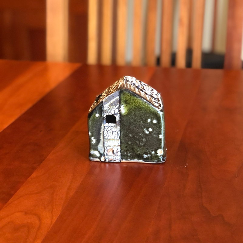 XS Ceramic Cottage by Cyndi Casemier