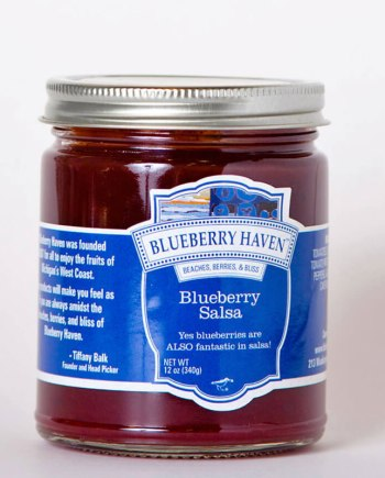 blueberry salsa by blueberry haven