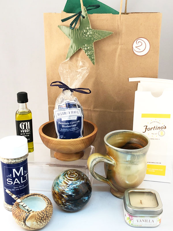 joy drop is a service offering handmade pottery, glass, wood and local West Michigan products
