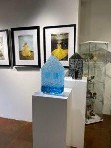 Glass Sculpture at Xanadu Gallery