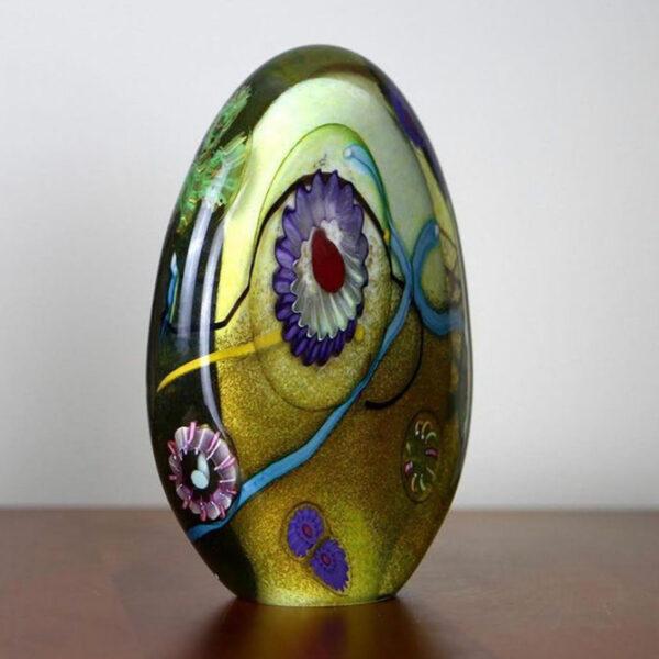 Handblown Glass Marine Sculpture by Matthew Paskiet