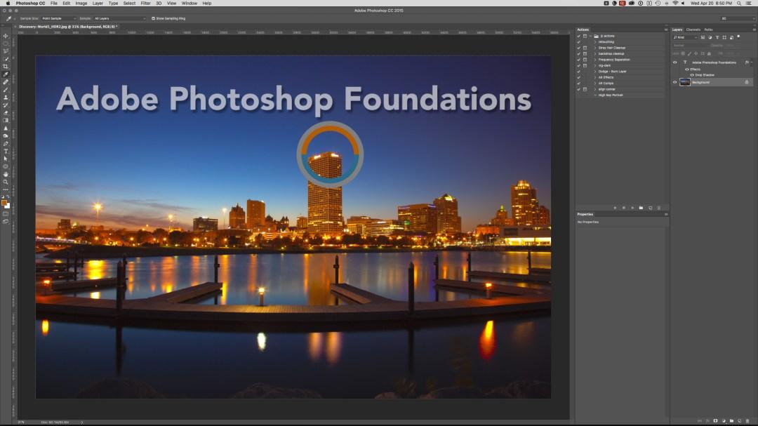 Adobe Photoshop Foundations