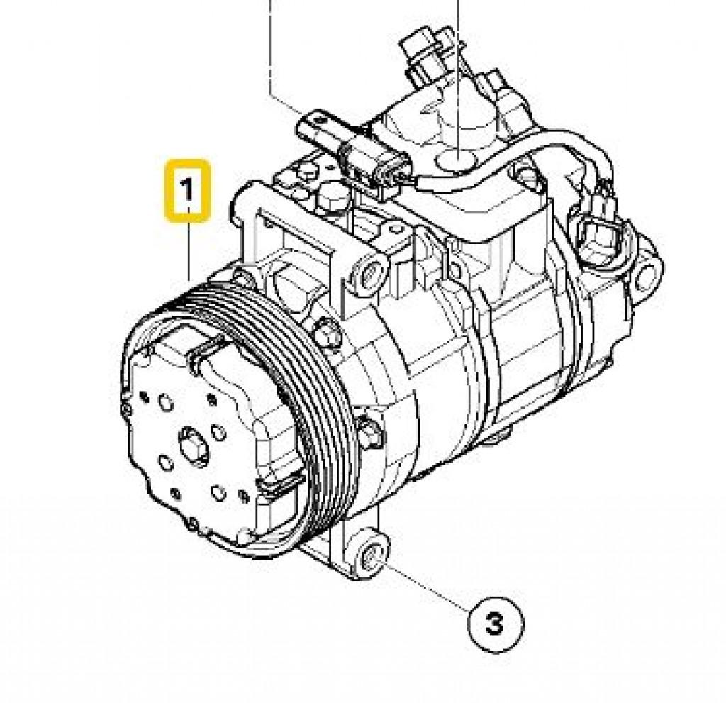 A C Compressor E90 E82 E88 X1 E89 Z4
