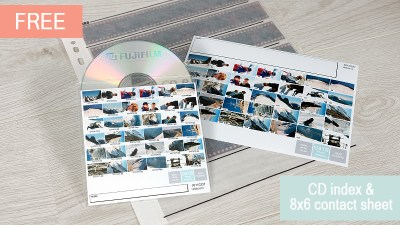 C41 Film Processing Order Online process picture Film Scan and Index FREE Picture