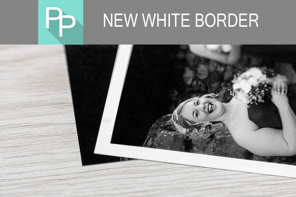 White Border on Photographic Prints