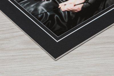 Giclée Art Box - Black Mount