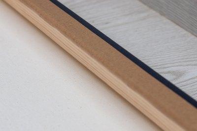 Chunky Canvas Wrap Wood frame