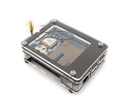 Zebra Adafruit GPS Case