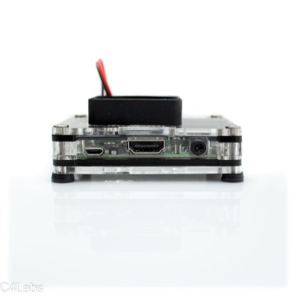 Zebra case for Raspberry Pi 3 A+ with fan upgrade