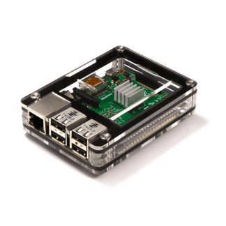 Zebra Classic Case for Raspberry Pi