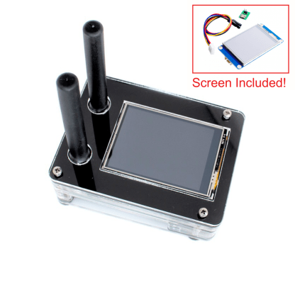 DRPi-1NSX case for Raspberry Pi 3 B+, Duplex MMDVM v1.0, 2.4″ Enhanced Nextion Screen