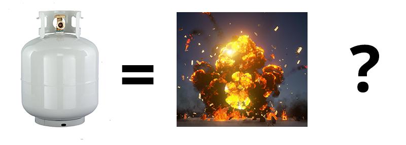 Propane Explosion Question