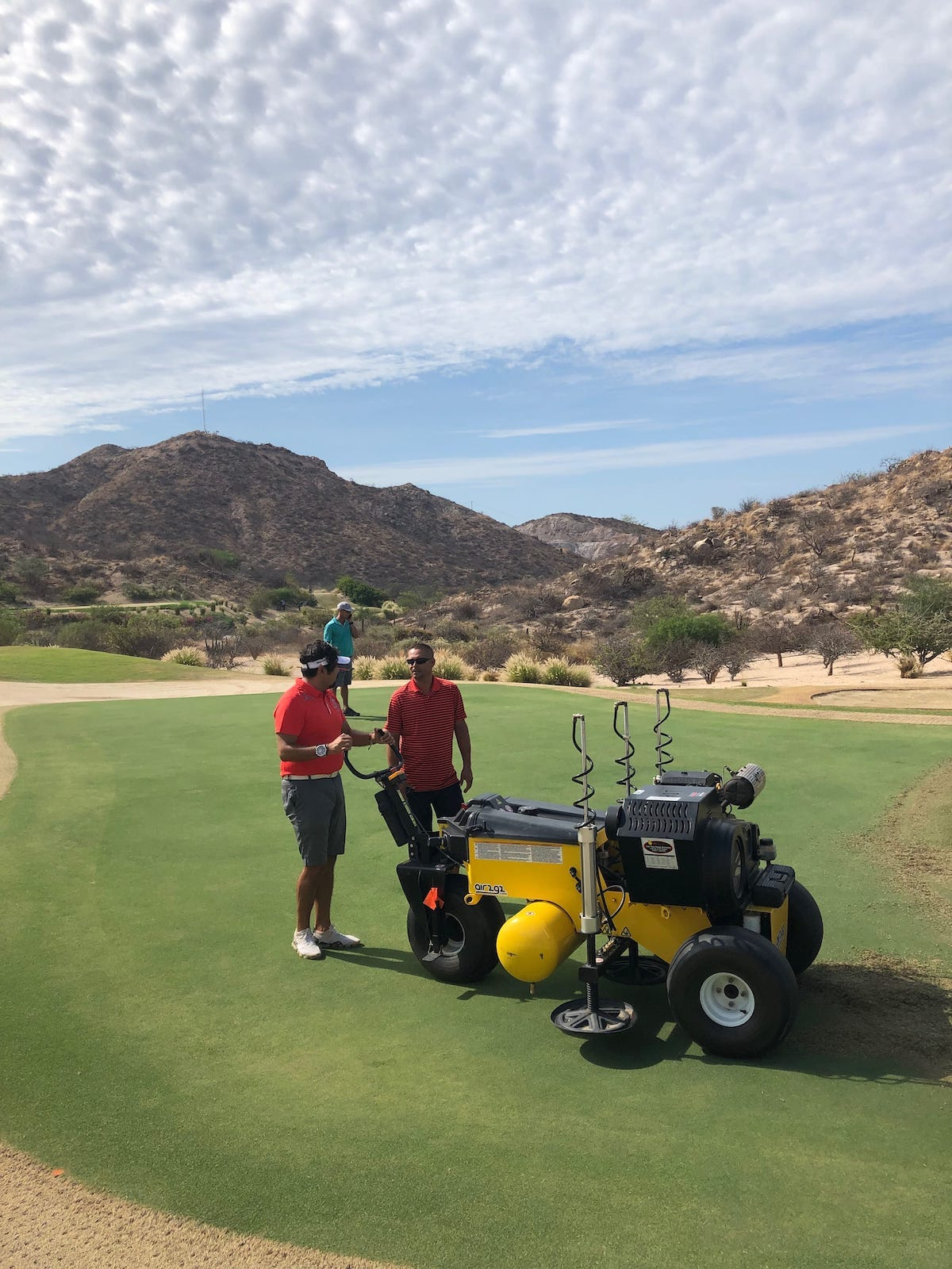 Air2G2 at Eldorado Golf Club, Cabo, Mexico