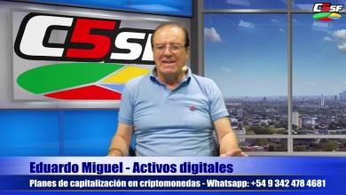 Photo of C5SF –  Eduardo Miguel – Planes de capitalización en criptomonedas – Martes 10 noviembre 2020