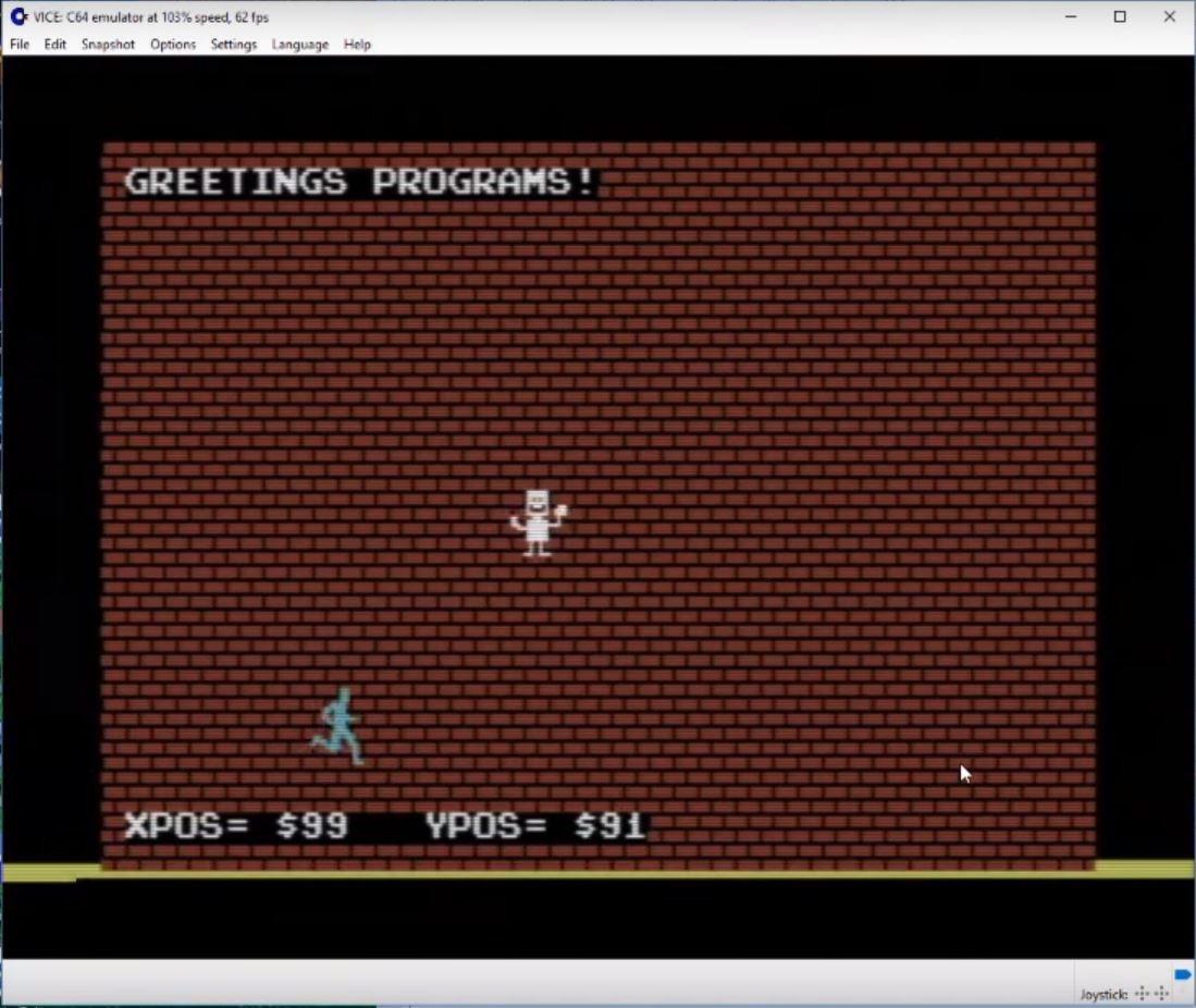 C64 Machine Language Project Part 2 - Commodore 64 Brain