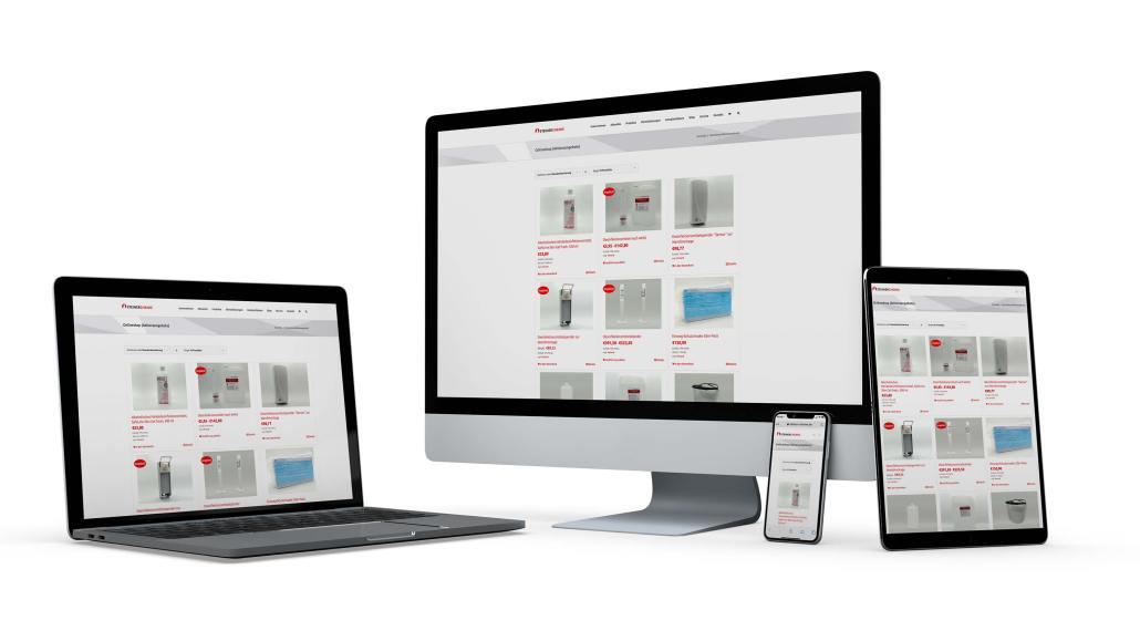 Neuer Onlineshop für Steiner Chemie