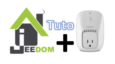 Photo de Tuto : Utiliser la prise commandée Belkin Wemo Switch avec Jeedom