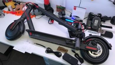 Photo de Test vidéo de la trottinette électrique et connectée Mijia M365 de Xiaomi