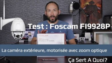 Photo de Test de la caméra Foscam FI9928P : extérieure, motorisée, avec un vrai zoom optique
