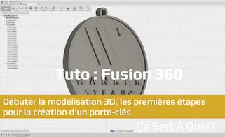 Photo de Tuto : Débuter la modélisation 3D avec Fusion 360