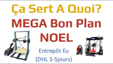 Entete Bons plans MEGA CR10 ANET A8