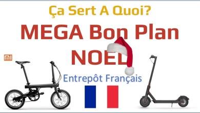 Photo of Bons Plans Noel : trottinette M365 et vélo électrique QiCycle de Xiaomi depuis l'entrepôt en France