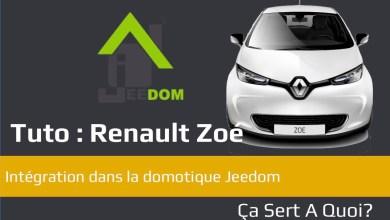Photo of Tuto : Connecter une Renault Zoé avec la domotique Jeedom