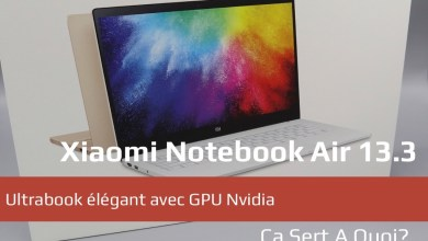 Photo de Test : PC portable Xiaomi Notebook Air 13.3