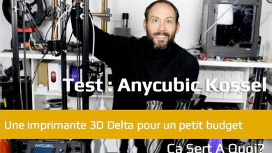 Photo of Test : Anycubic Kossel, l'imprimante 3D Delta pour petit budget