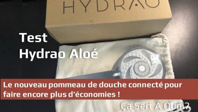 Photo of Test : Hydrao Aloé le pommeau de douche connecté