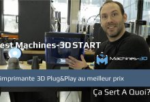 Photo of Test : l'imprimante 3D Machines-3D START