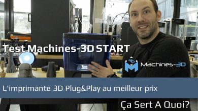 Photo de Test : l'imprimante 3D Machines-3D START