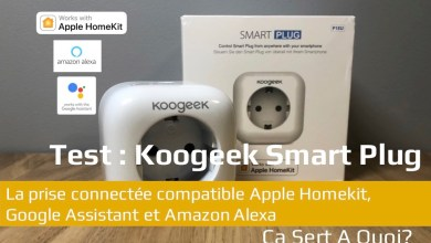 Photo de Test : Koogeek Smart Plug, la prise connectée compatible Apple Homekit, Google Assistant et Amazon Alexa