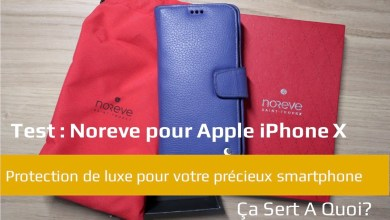 Photo of Test : Noreve housse cuir pour Apple iPhone X