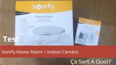 Photo de Test : Somfy Home Alarm + Indoor Caméra