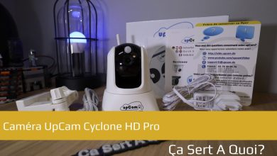 Photo of Test : Caméra UpCam Cyclone HD Pro