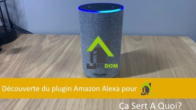 Photo de Découverte du plugin Amazon Alexa pour la domotique Jeedom