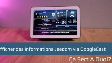 Photo of Afficher des informations Jeedom via GoogleCast