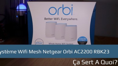 Photo of Système Wifi Mesh Netgear Orbi AC2200 RBK23